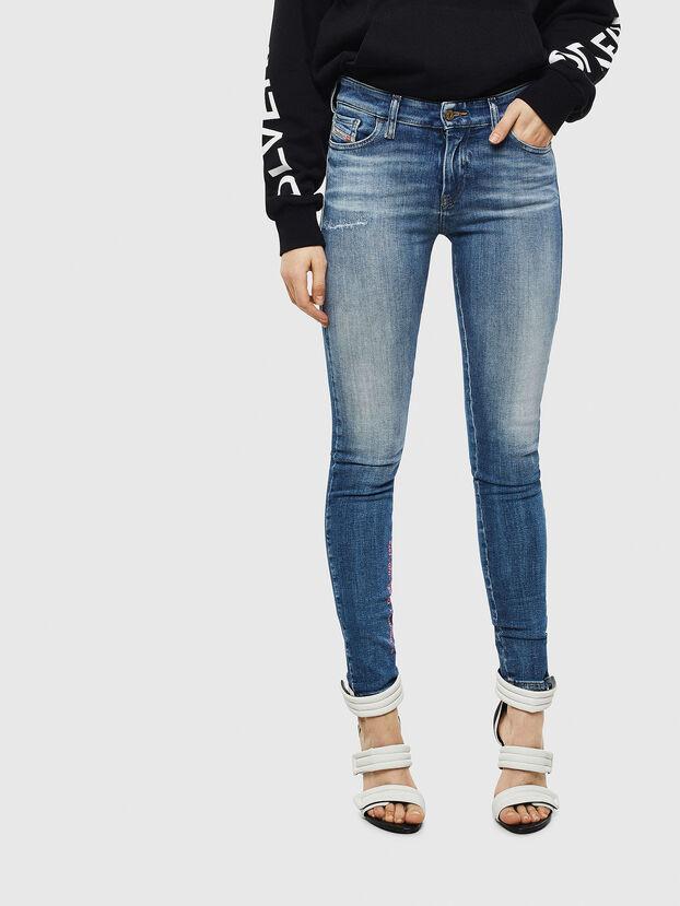 Slandy 009CJ, Mittelblau - Jeans