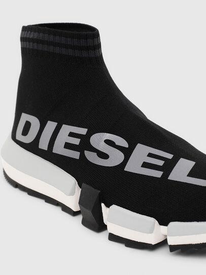 Diesel - H-PADOLA MID SOCK W, Schwarz - Sneakers - Image 5
