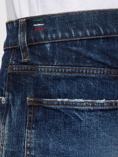Diesel - D-Macs 0079P, Dunkelblau - Jeans - Image 5