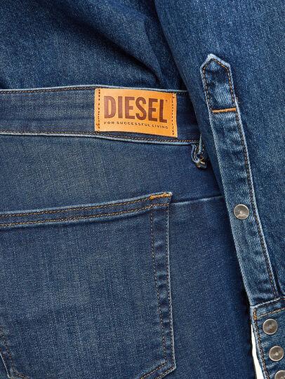 Diesel - D-Jevel 009HL, Dunkelblau - Jeans - Image 6