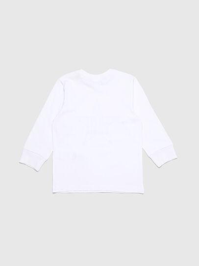 Diesel - TDIEGOYHB-ML-R, Weiß - T-Shirts und Tops - Image 2