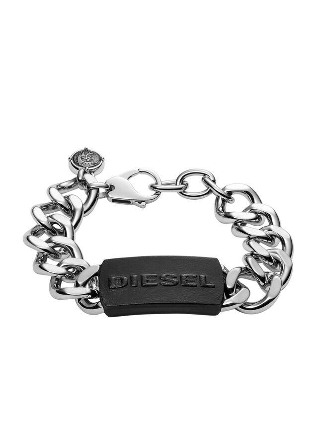 Diesel - BRACELET DX1010, Silber - Armbänder - Image 1