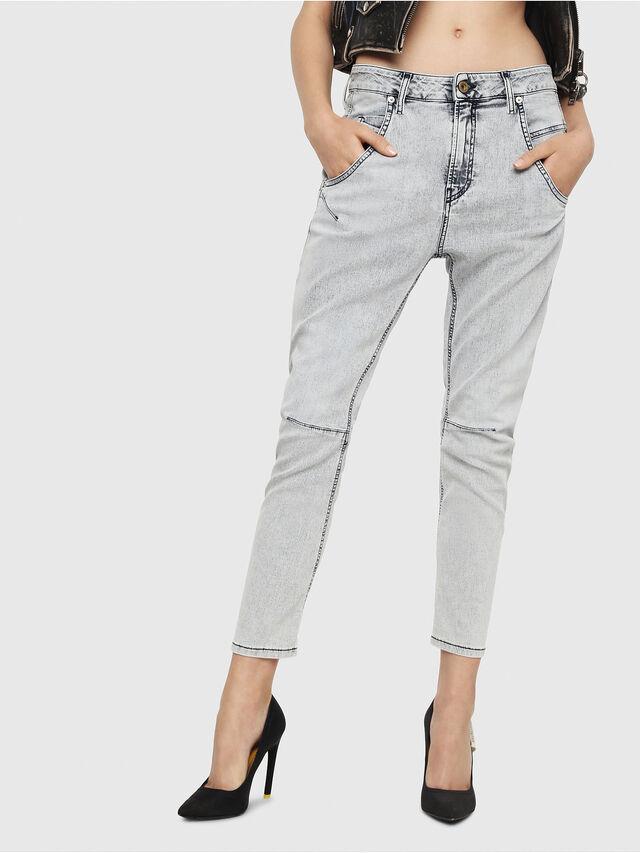 Diesel - Fayza JoggJeans 069FE, Hellblau - Jeans - Image 1