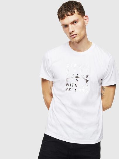 Diesel - T-DIEGO-J8, Weiß - T-Shirts - Image 1