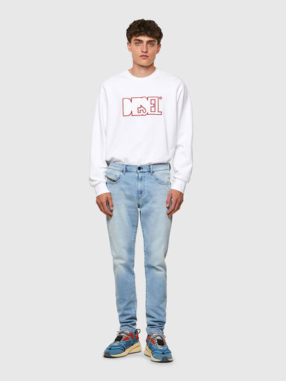Diesel - D-Strukt JoggJeans® Z69VL, Hellblau - Jeans - Image 5