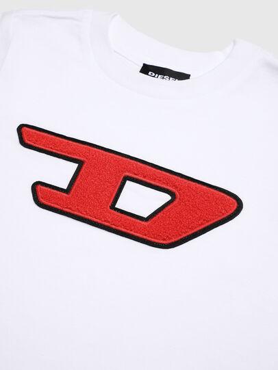 Diesel - TJUSTDIVISIONB-D-R, Weiß - T-Shirts und Tops - Image 3