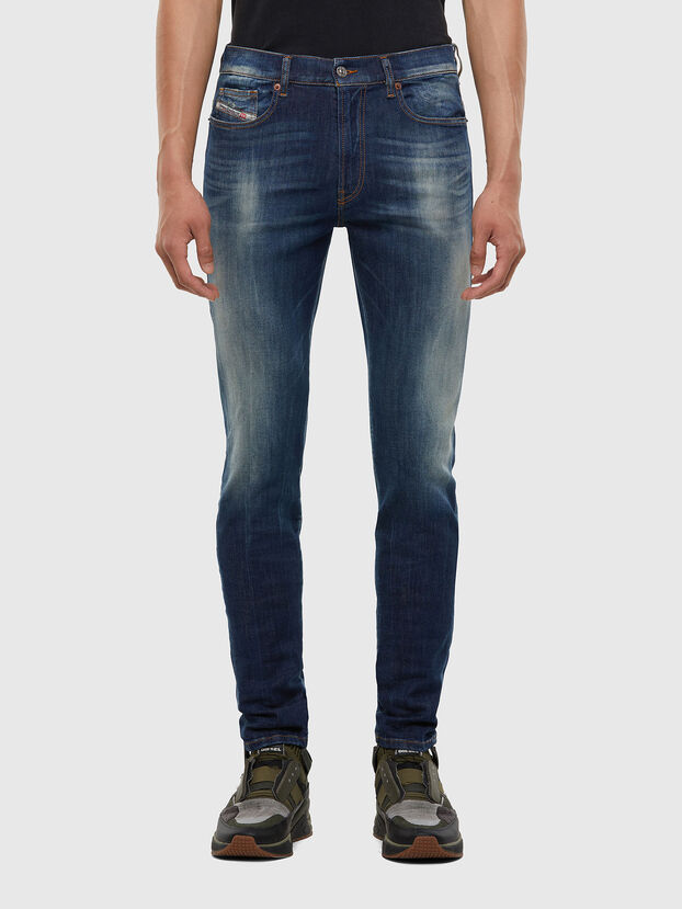D-Amny 009FB, Dunkelblau - Jeans