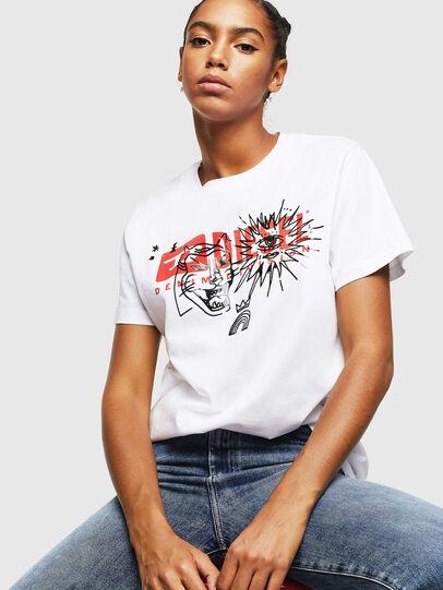 Diesel - T-DARIA-YC, Weiß - T-Shirts - Image 4