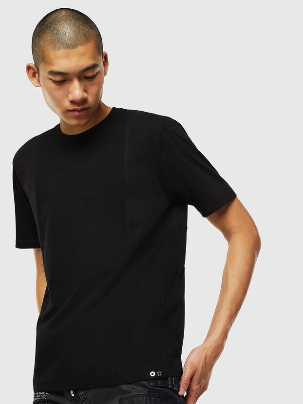T-TOMI, Schwarz - T-Shirts