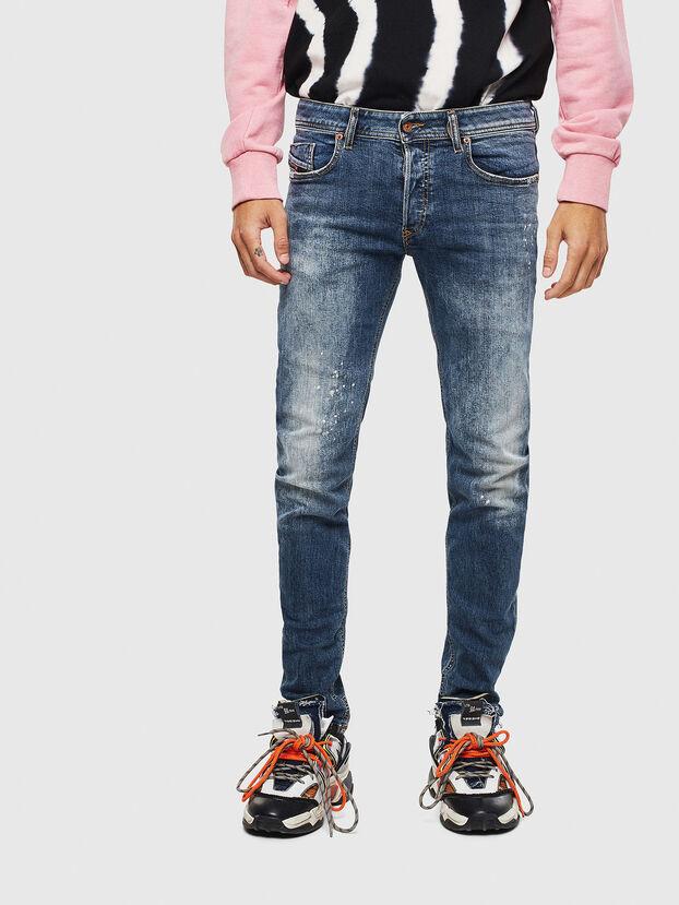 Sleenker 069LI, Dunkelblau - Jeans