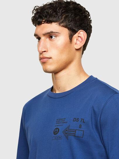 Diesel - T-JUST-A39, Blau - T-Shirts - Image 3