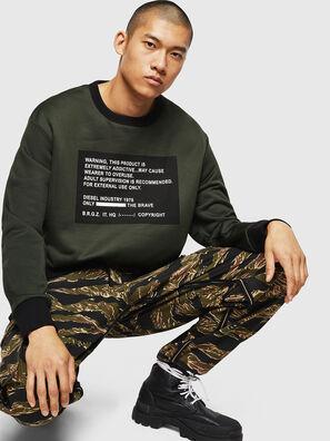 S-BAY-MESH, Dunkelgrün - Sweatshirts