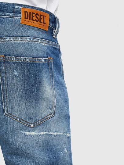 Diesel - D-Vider 0097B, Mittelblau - Jeans - Image 5