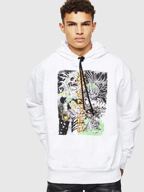 S-ALBY-D1, Weiß - Sweatshirts