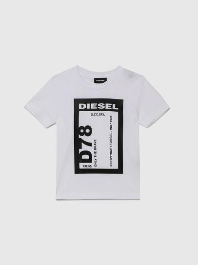 Diesel - TFULL78B-R, Weiß - T-Shirts und Tops - Image 1