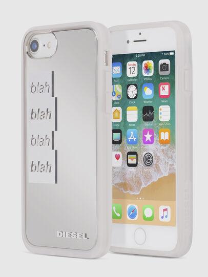 Diesel - BLAH BLAH BLAH IPHONE 8 PLUS/7 PLUS/6s PLUS/6 PLUS CASE, Weiß - Schutzhüllen - Image 1