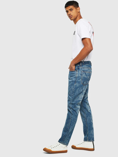 Diesel - D-Vider 0079D, Mittelblau - Jeans - Image 4