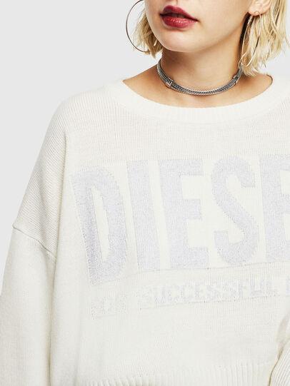 Diesel - M-LUREXY, Weiß - Strickwaren - Image 3
