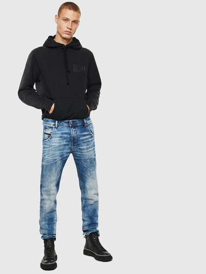 Diesel - Krooley JoggJeans 087AC, Mittelblau - Jeans - Image 6