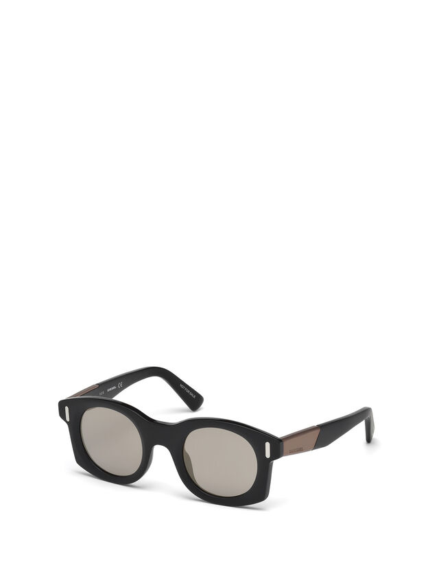 Diesel - DL0226, Schwarz - Sonnenbrille - Image 6