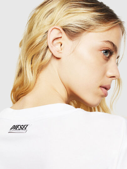 Diesel - T-DARIA-Y, Weiß - T-Shirts - Image 5