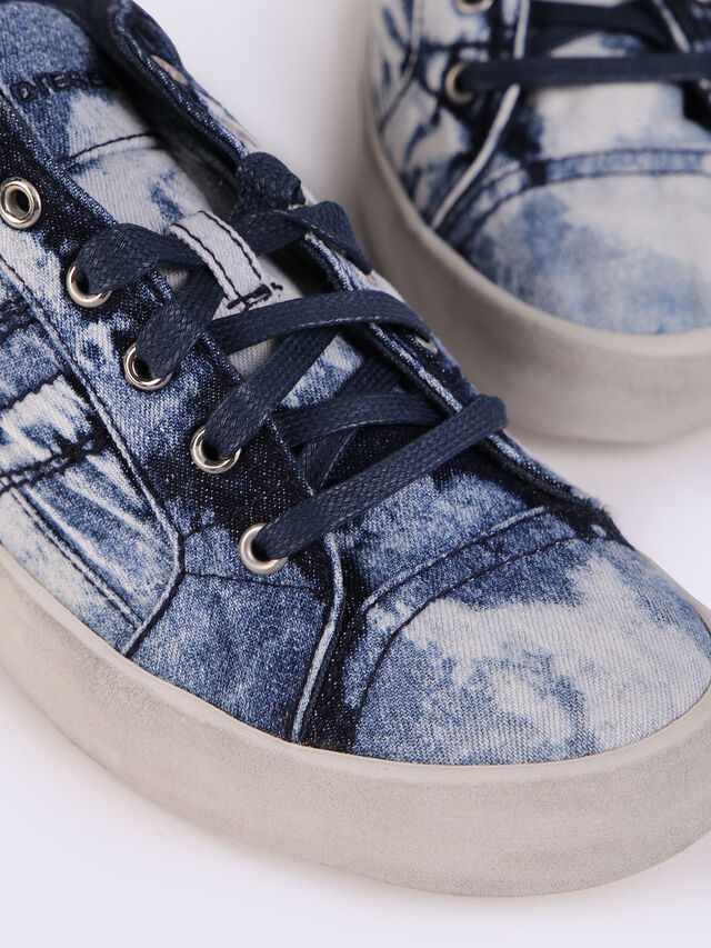 D-STRING LOW W, Jeansblau