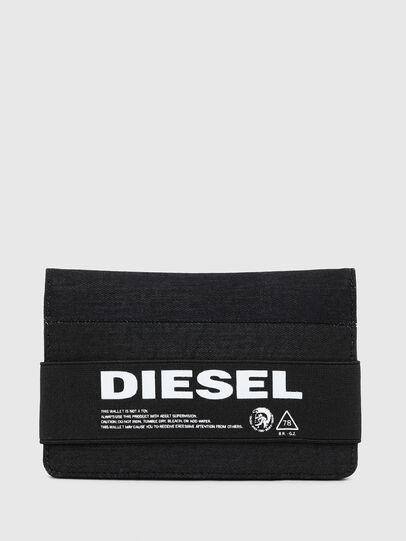 Diesel - ORGANIESEL, Schwarz - Kleine Portemonnaies - Image 1