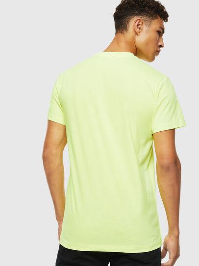 Diesel - T-DIEGO-J4, Neongelb - T-Shirts - Image 3