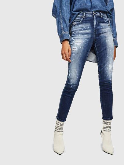 Diesel - Babhila 0091Y, Mittelblau - Jeans - Image 1