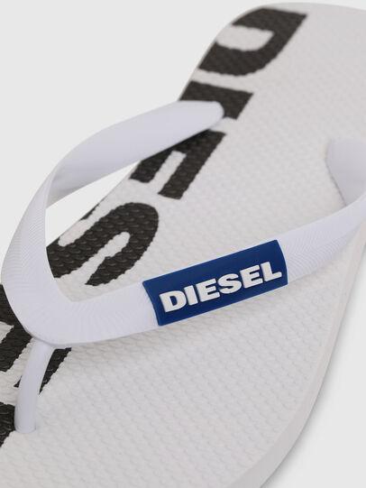 Diesel - SA-BRIIAN, Weiß/Schwarz - Pantoletten - Image 3
