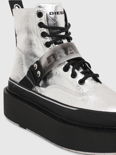 Diesel - H-SCIROCCO STRAP, Silber - Sneakers - Image 4