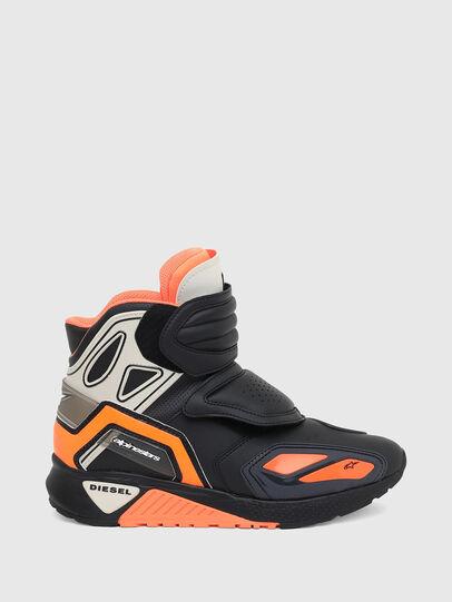 Diesel - ASTARS-SKBOOT, Schwarz/Orange - Sneakers - Image 1