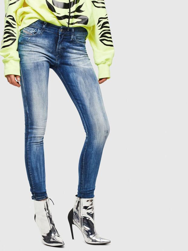 Slandy 0095C, Mittelblau - Jeans