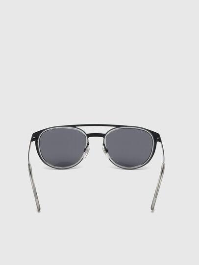 Diesel - DL0293, Schwarz/Grau - Sonnenbrille - Image 4