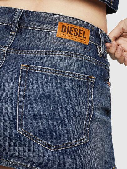 Diesel - DE-EISY, Dunkelblau - Röcke - Image 5