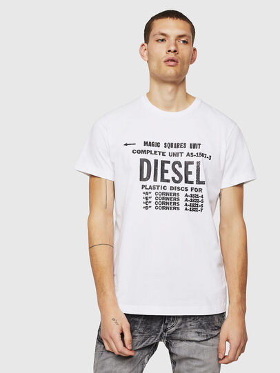 Diesel - T-DIEGO-B6, Weiß - T-Shirts - Image 1
