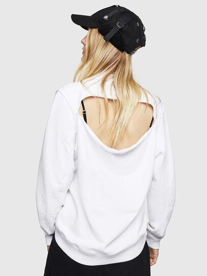 Diesel - F-LYANYDY-B, Weiß - Sweatshirts - Image 2