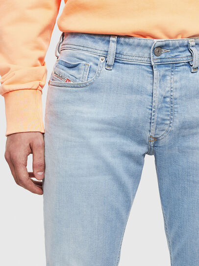 Diesel - Sleenker 009BJ, Hellblau - Jeans - Image 3