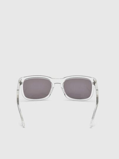 Diesel - DL0262, Weiß - Sonnenbrille - Image 4