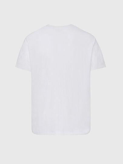 Diesel - T-RANIS-NEW2, Weiß - T-Shirts - Image 2