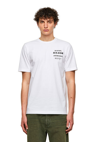 Green Label T-Shirt mit Brave-Print