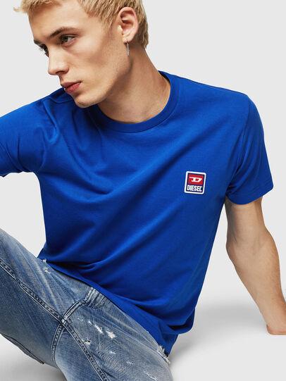 Diesel - T-DIEGO-DIV, Brillantblau - T-Shirts - Image 3