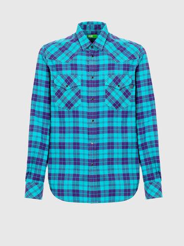 Nachhaltig hergestelltes Flanellhemd im Western-Stil