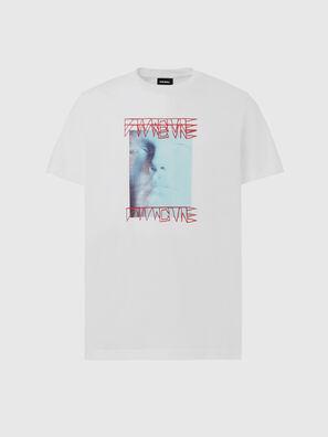 T-DIEGOS-X47, Weiß - T-Shirts