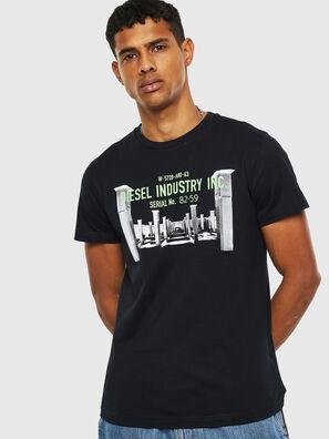 T-DIEGO-S13, Schwarz - T-Shirts