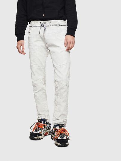 Diesel - D-Luhic JoggJeans 069LZ, Weiß - Jeans - Image 1