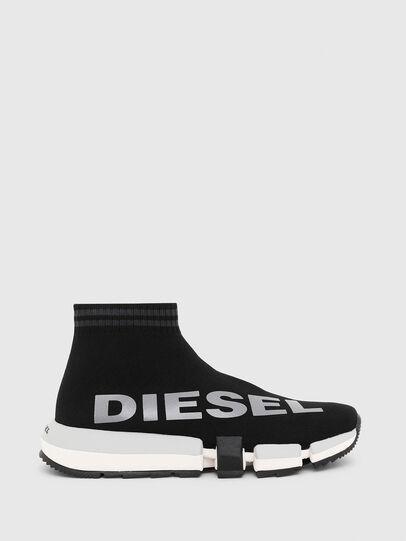 Diesel - H-PADOLA MID SOCK W, Schwarz - Sneakers - Image 1