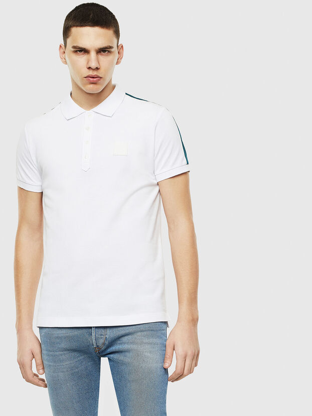 T-RALFY-S1, Weiß - Polohemden