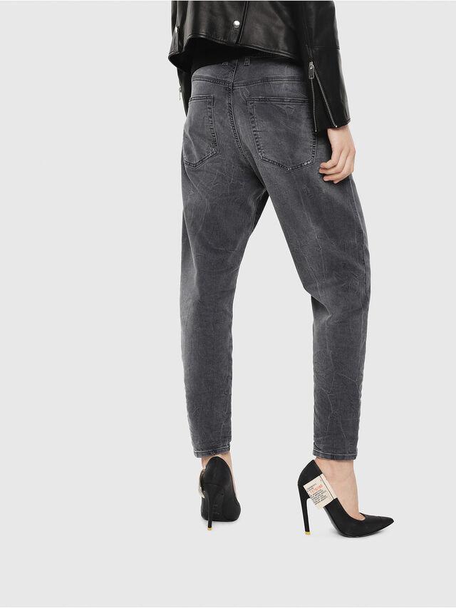 Diesel - Candys JoggJeans 069EP, Schwarz/Dunkelgrau - Jeans - Image 2