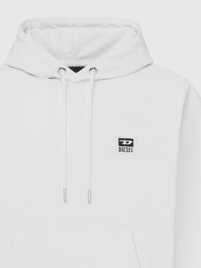Diesel - S-GIRK-HOOD-K21, Weiß - Sweatshirts - Image 3